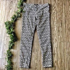 Forever 21 Damask Print Jeans